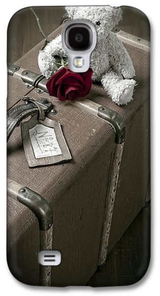 Teddy Wants To Travel Galaxy S4 Case by Joana Kruse