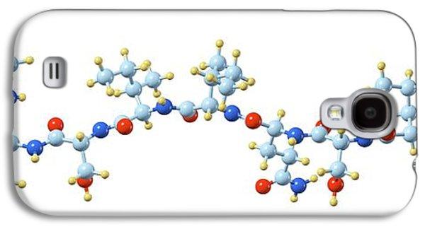 Teixobactin Antibiotic Molecule Galaxy S4 Case