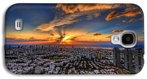 Tel Aviv Sunset Time Galaxy S4 Case