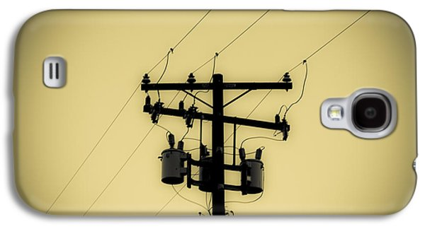 Telephone Pole 1 Galaxy S4 Case