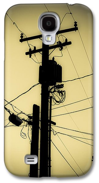 Telephone Pole 2 Galaxy S4 Case