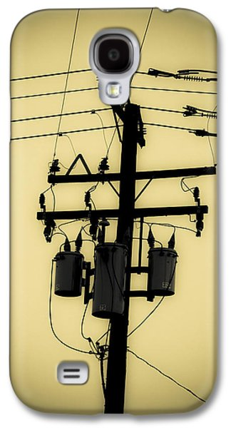Telephone Pole 3 Galaxy S4 Case