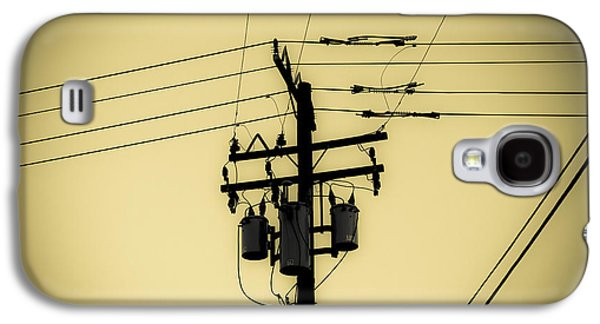 Telephone Pole 4 Galaxy S4 Case