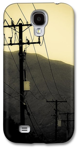 Telephone Pole 5 Galaxy S4 Case