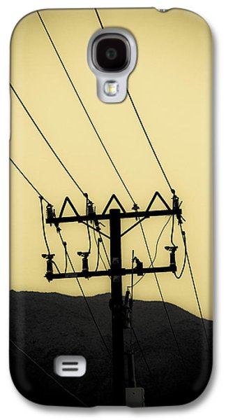 Telephone Pole 6 Galaxy S4 Case