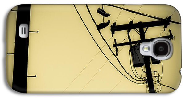 Telephone Pole 8 Galaxy S4 Case