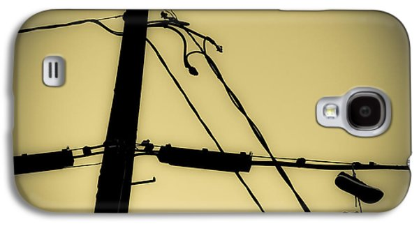 Telephone Pole And Sneakers 2 Galaxy S4 Case