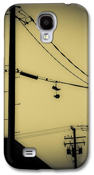 Telephone Pole And Sneakers 3 Galaxy S4 Case