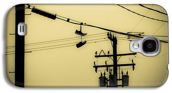 Telephone Pole And Sneakers 4 Galaxy S4 Case