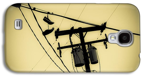 Telephone Pole And Sneakers 7 Galaxy S4 Case