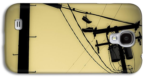 Telephone Pole And Sneakers 9 Galaxy S4 Case