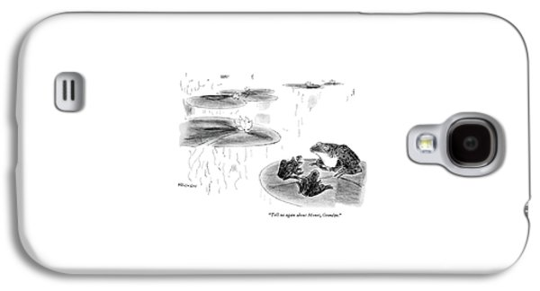 Tell Us Again About Monet Galaxy S4 Case