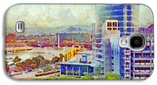 Tempe Arizona Skyline In The Early Morning Galaxy S4 Case