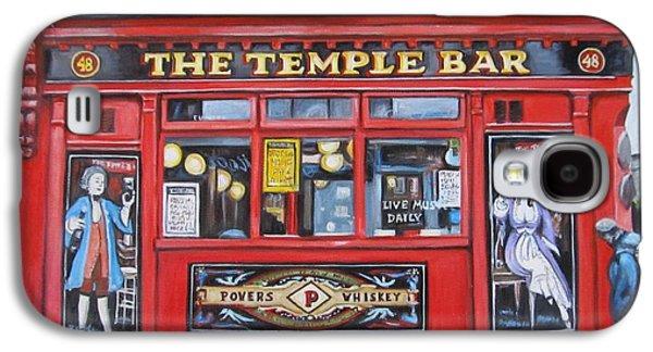Temple Bar Dublin Ireland Galaxy S4 Case by Melinda Saminski