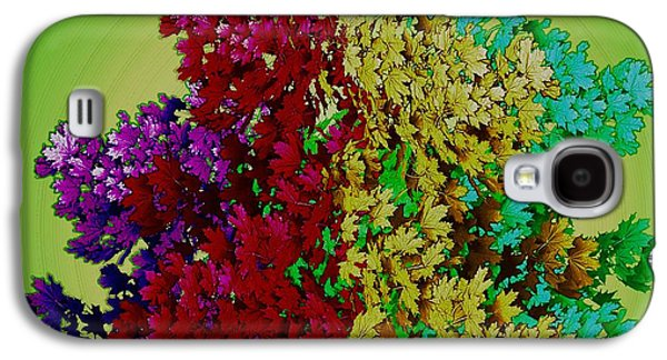 Waterscape Galaxy S4 Case - Temple Of Colors by Pepita Selles