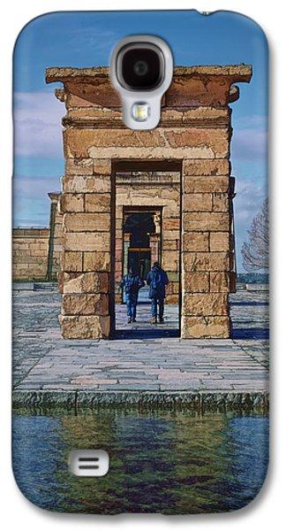Temple Of Debod II Galaxy S4 Case by Joan Carroll