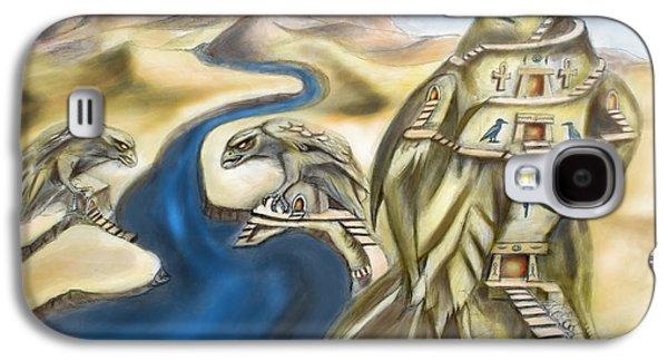 Temple Of Horus Three Of Three Galaxy S4 Case