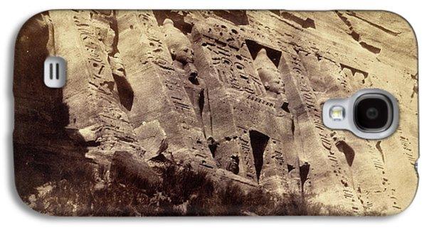 Temple Of Nefertari Galaxy S4 Case by British Library