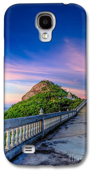 Temple Sunset Galaxy S4 Case
