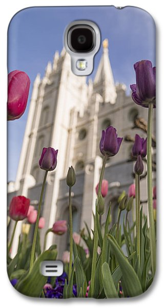 Tulip Galaxy S4 Case - Temple Tulips by Chad Dutson