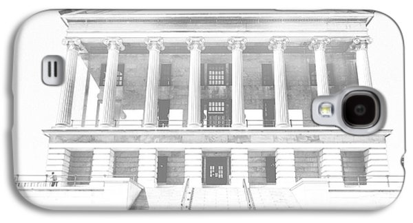 Tennessee Capitol Building Sketch Galaxy S4 Case by Dan Sproul