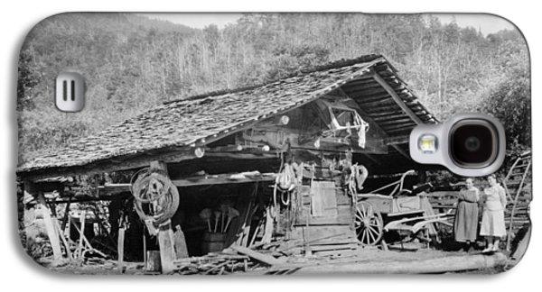 Tennessee Corn Crib, 1936 Galaxy S4 Case