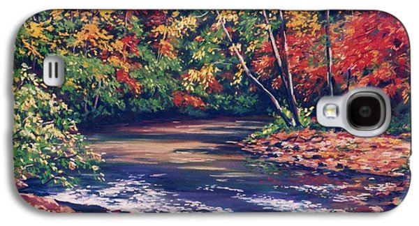 Tennessee Stream In The Fall Galaxy S4 Case by John Clark