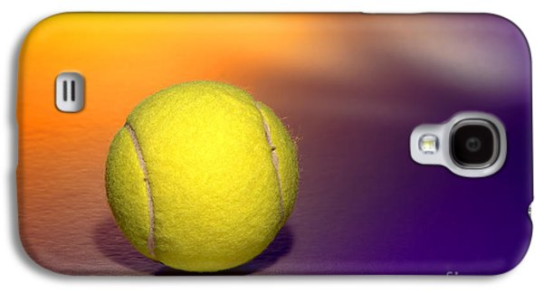 Tennis Photographs Galaxy S4 Cases - Tennis Ball Galaxy S4 Case by Olivier Le Queinec