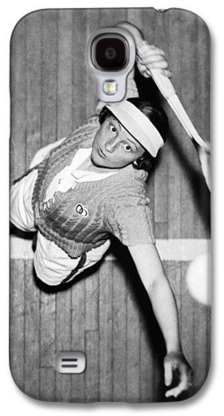 Tennis Champ Sylvia Henrotin Galaxy S4 Case by Underwood Archives