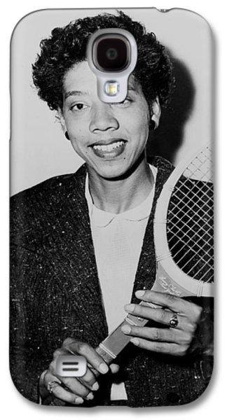 Tennis Great Althea Gibson 1956 Galaxy S4 Case