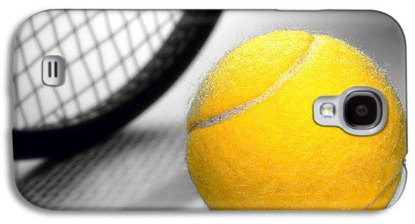 Tennis Galaxy S4 Cases - Tennis Galaxy S4 Case by Olivier Le Queinec