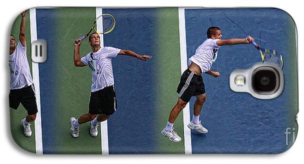 Tennis Serve By Mikhail Youzhny Galaxy S4 Case