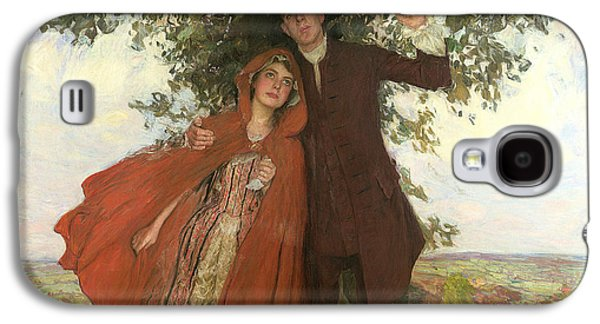 Tess Of The D'urbervilles Or The Elopement Galaxy S4 Case by William Hatherell