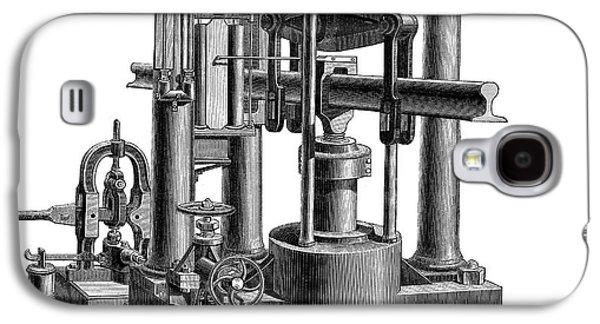 Testing Machine, 1878 Galaxy S4 Case by Granger