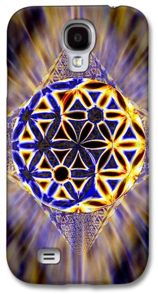 Tetra Balance Crystal Galaxy S4 Case by Derek Gedney