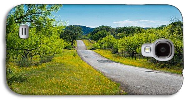 Texas Hill Country Road Galaxy S4 Case by Darryl Dalton