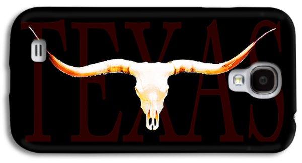 Texas Longhorns By Sharon Cummings Galaxy S4 Case