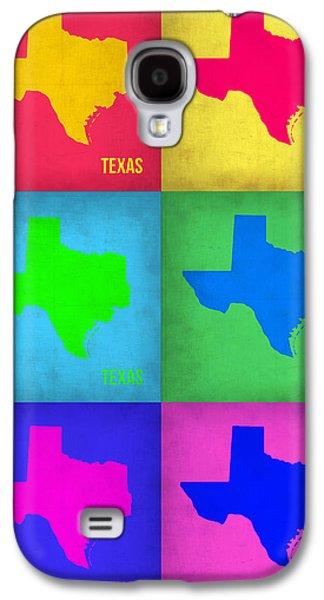 Texas Pop Art Map 1 Galaxy S4 Case