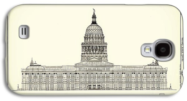 Texas State Capitol Architectural Design Galaxy S4 Case