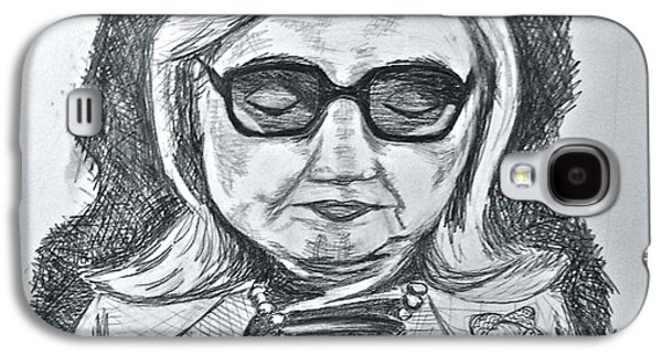 Texts From Hillary Galaxy S4 Case by Cheryl Bond