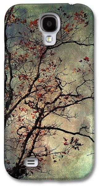 Textured Oak Tree Art Galaxy S4 Case