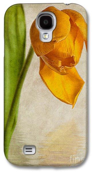 Textured Tulip Galaxy S4 Case by John Edwards