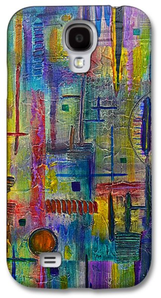 Texural Galaxy S4 Case by Moon Stumpp