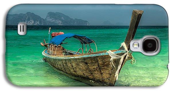 Thai Boat  Galaxy S4 Case by Adrian Evans