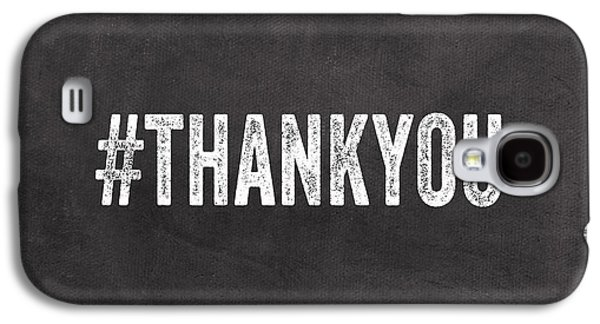 Thank You- Greeting Card Galaxy S4 Case