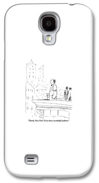 Thanks, New York.  You've Been A Wonderful Galaxy S4 Case