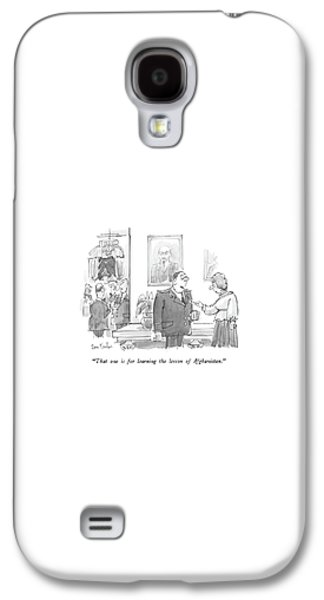 Moscow Galaxy S4 Case - That One Is For Learning The Lesson by Dana Fradon
