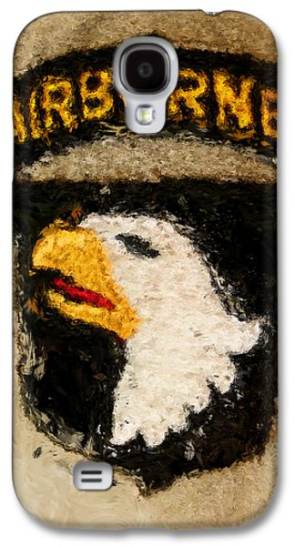 The 101st Airborne Emblem Painting Galaxy S4 Case