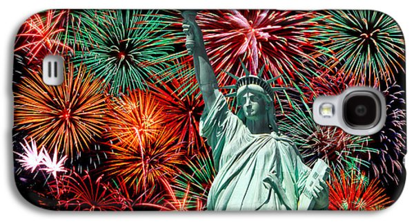 Independance Day Galaxy S4 Case by Anthony Sacco