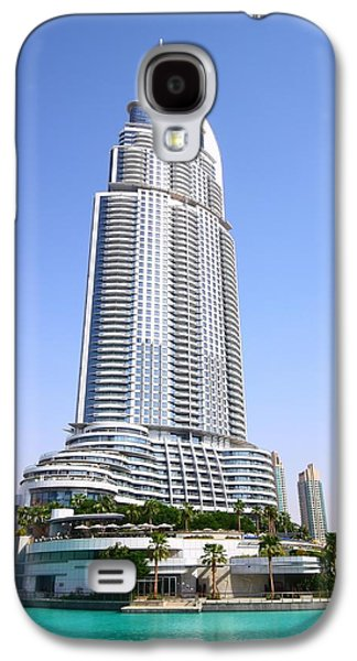 The Address Downtown Dubai Galaxy S4 Case by FireFlux Studios